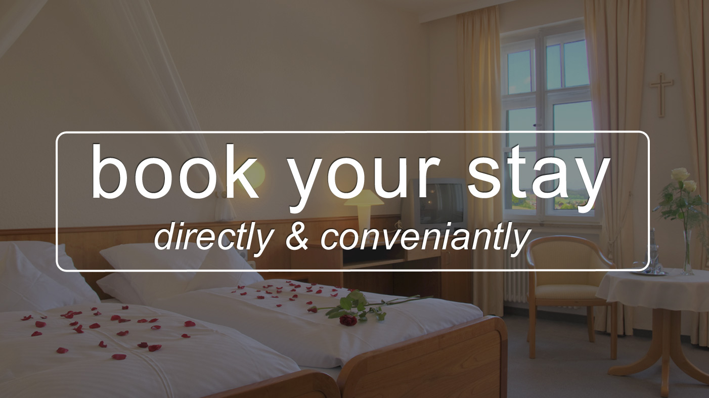 Book Your stay directly at the Hotell**** Krumbad